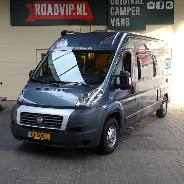 Weinsberg Carabus, buscamper, 6 mtr, 2,3 ltr, 130 pk, 2014, 60 dkm, antraciet