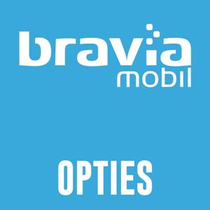 <p>Bravia model opties</p>
