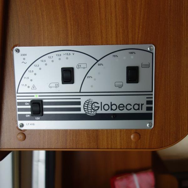 Globecar Globescout buscamper 6 mtr, bj 2010, 95 dkm, 160 pk, Automaat, met. grijs by PÖSSL