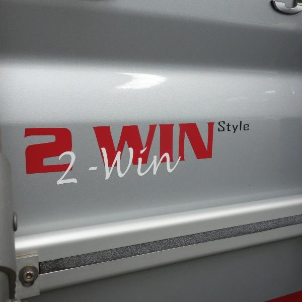 Pössl 2WIN Style, bj 2008, met grijs