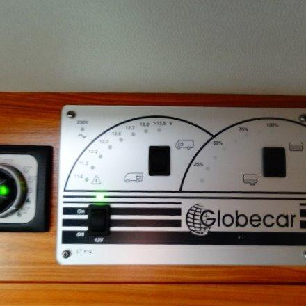 Globecar Globescout 600, bj. 2012, wit