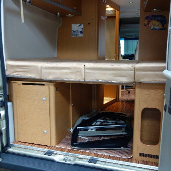 Hymer Car 322, bj. 2010, 160 pk, met. champagne