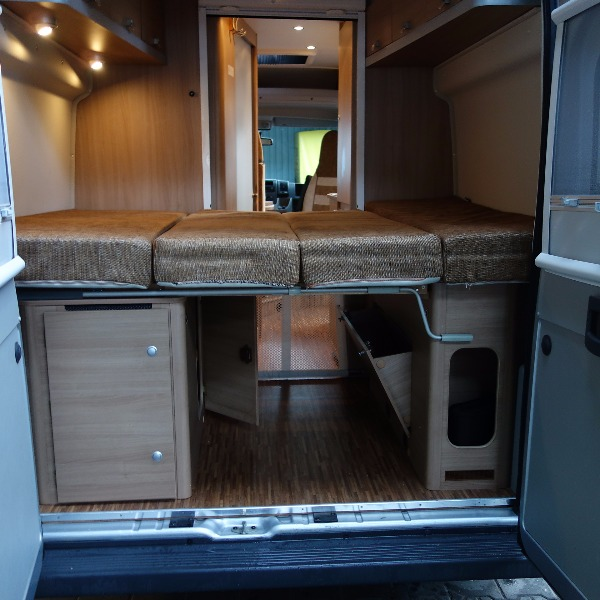Bürstner City-Car, buscamper bj. 2011, 120 pk, met. grijs